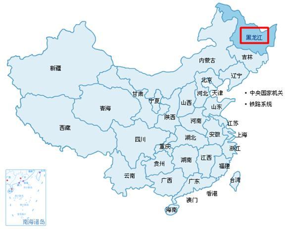 """进入后在地图列表中选择""""黑龙江-其他"""""""